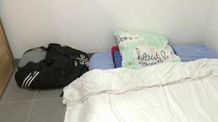 Salles de sport : en détresse, une gérante vit avec son fils dans les vestiaires de sa salle (CAPTURE D'ÉCRAN FRANCE 3)