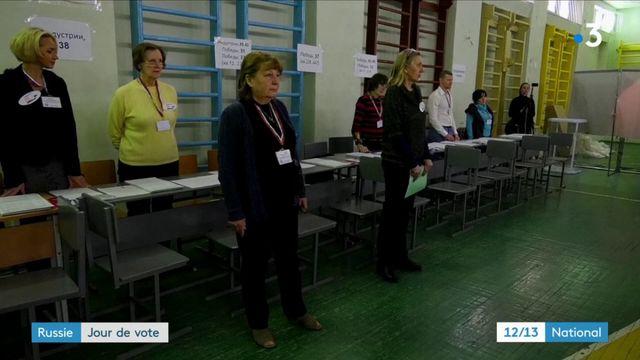 Russie : jour de vote
