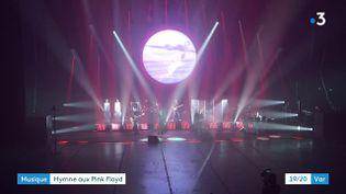 Le groupe So Floyd en répétition (CAPTURE D'ÉCRAN FRANCE 3)