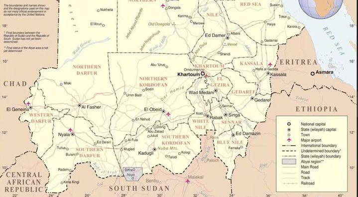 Capture d'écran d'une vidéo de l'ONG International Crisis Group («South Sudan - Sudan : the neighbours») (International Crisis Group )