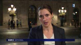 Marianne Getti, envoyée spéciale à Barcelone. (FRANCE 3)