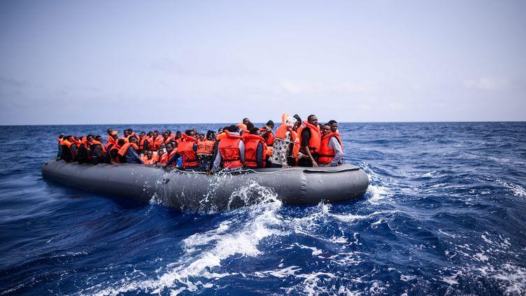 Le gardes-côtes libyens sont de plus en plus violents envers les migrants ces dernières semaines selon MSF. (CHRISTOPHE PETIT TESSON / MAXPPP)