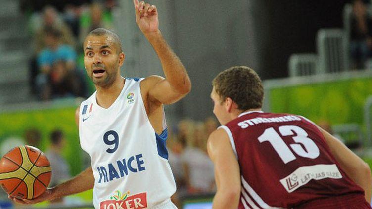 Le joueur français Tony Parker