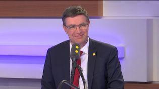 Jean-Marc Torollion, président de la FNAIM, le 23 janvier 2019 sur franceinfo. (FRANCEINFO / RADIOFRANCE)