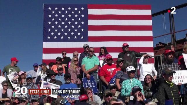 États unis : Trump en meeting pour les élections de mi-mandat