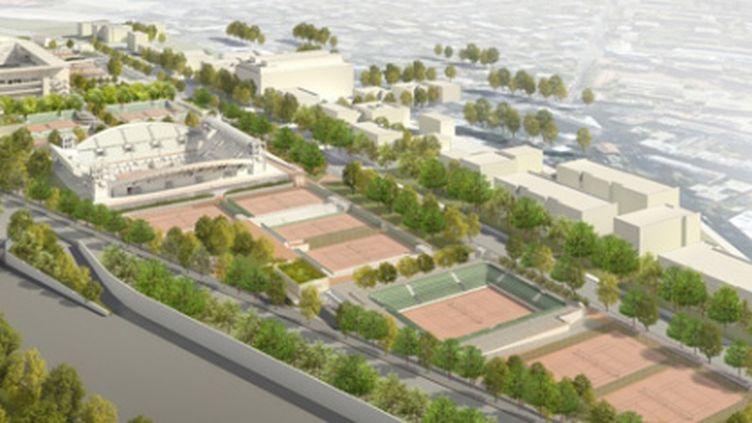 Le projet du Nouveau Roland-Garros