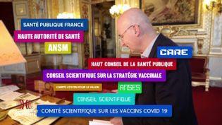 """Complément d'enquête. Millefeuille administratif, gestion """"très verticale"""", """"secret défense"""" inapproprié… la stratégie vaccinale française est-elle la bonne ? (COMPLÉMENT D'ENQUÊTE/FRANCE 2)"""