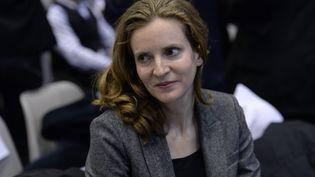 Nathalie Kosciusko-Morizet, le 9 décembre 2015, lors des élections régionales à Issy-les-Moulineaux (Hauts-de-Seine). (MIGUEL MEDINA / AFP)