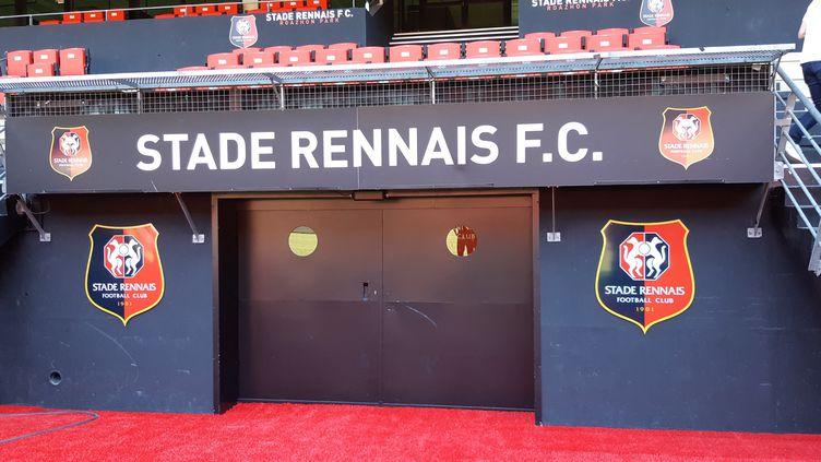 Le Stade Rennais auRoazhon Park. Photo d'illustration. (LAETITIA CHERBONNEL / FRANCE-BLEU ARMORIQUE)
