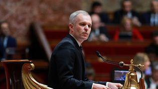 François de Rugy, alors président de l'Assemblée nationale, le 18 avril 2018. (JACQUES DEMARTHON / AFP)
