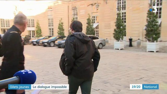 """""""Gilets jaunes"""" : rendez-vous manqué à Matignon"""
