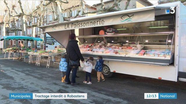 Municipales 2020 : le maire d'une commune du Tarn interdit le tractage sur les marchés