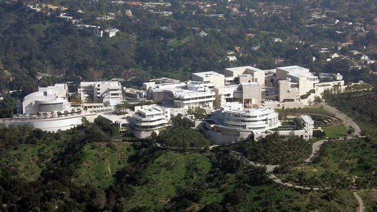 Vue aérienne du Los Angeles Getty Museum, en 2005 (MAXPPP)