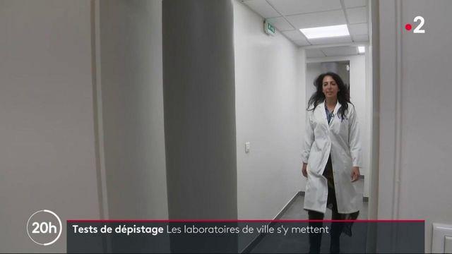Tests de dépistage du Covid-19 : les laboratoires de ville s'y mettent