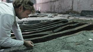 Découverte d'un bateau romain à Antibes  (PHOTOPQR/NICE MATIN )