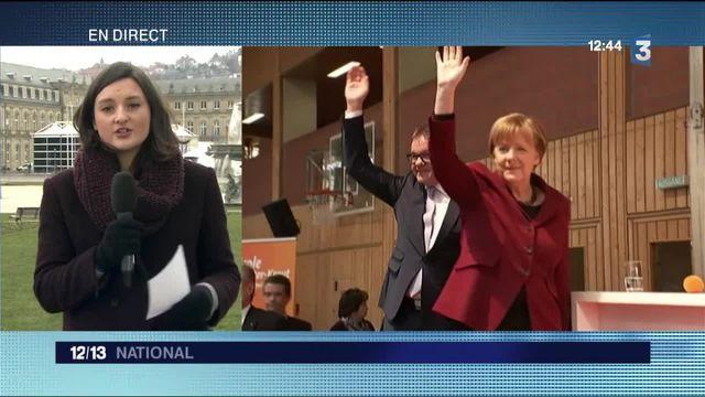 Allemagne : des élections régionales en forme de test pour Angela Merkel