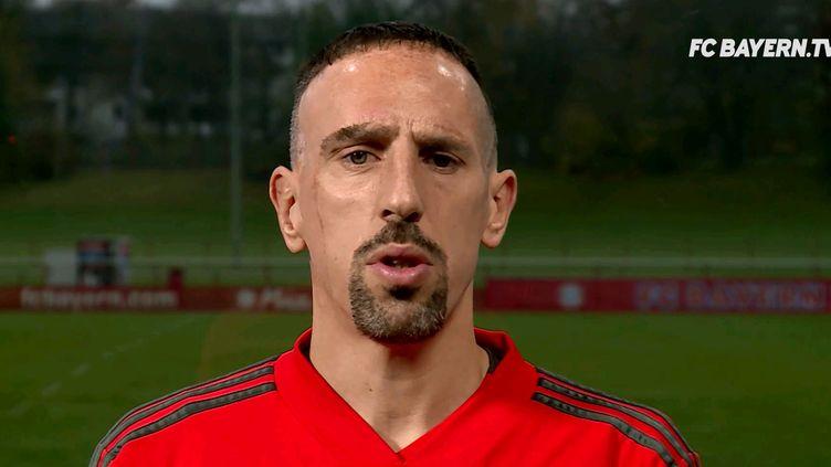 Franck Ribéry s'exprime (en allemand) sur son comportement