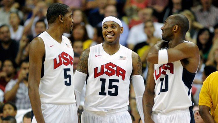 Durant, Anthony et Bryant (DAVID BECKER / GETTY IMAGES NORTH AMERICA)