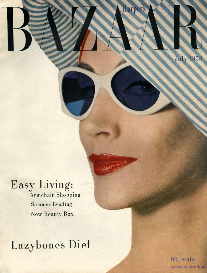 """Exposition """"Harper's Bazaar -Premier magazinede mode""""au MAD du 28 février au 14 juillet 2020 (Gleb Derujinsky. Juillet 1958)"""