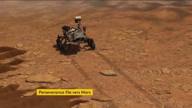 Le robot Perseverance à l'assaut de Mars