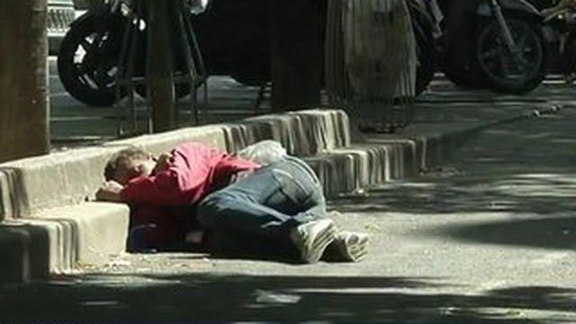Les sans-abri très vulnérables à la canicule