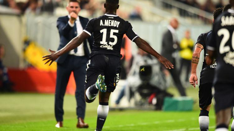 Bordeaux a dominé Guingamp (3-1) lors de la 7e journée de Ligue 1.  (NICOLAS TUCAT / AFP)