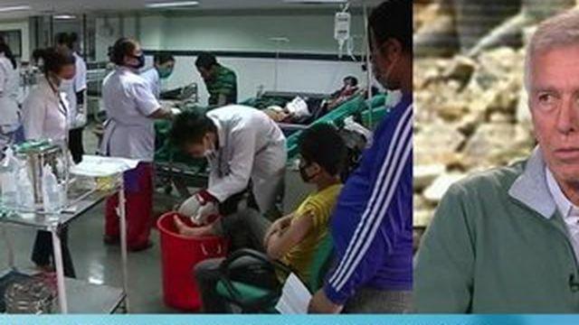 Séisme au Népal : d'importants risques sanitaires