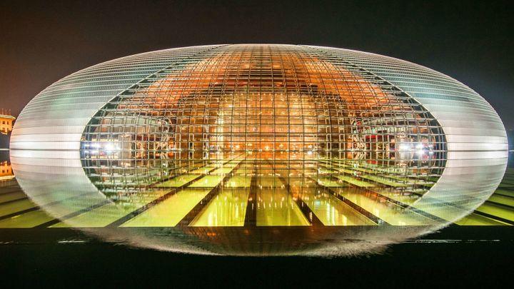 National Centre for the Performing Arts de Pékin  (Feng Jun/SIPA ASIA/SIPA)
