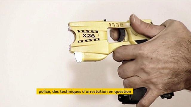 Police : les techniques d'arrestation en question