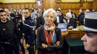 Christine Lagarde, directrice générale du Fonds monétaire international, le 12 décembre 2016. (CHRISTOPHE PETIT TESSON / EPA FILE)