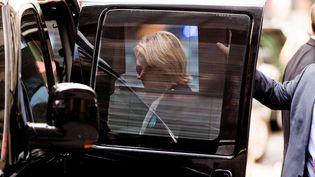 Après un malaise à New york, dimanche, Hillary Clinton a rejoint l'appartement de sa fille pour s'y reposer (ANDREW HARNIK/AP/SIPA / AP)