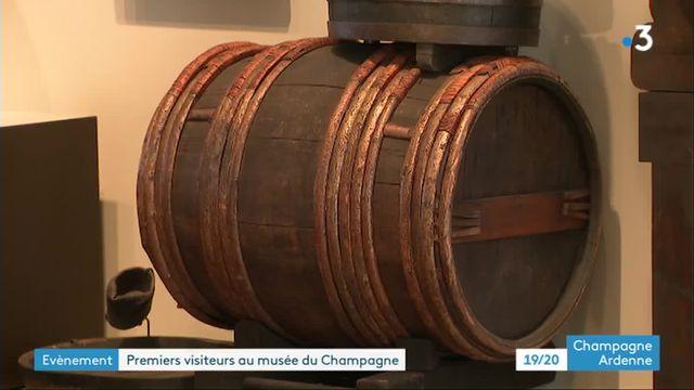 Ouvertue musée de l'histoire du Champagne à Epernay