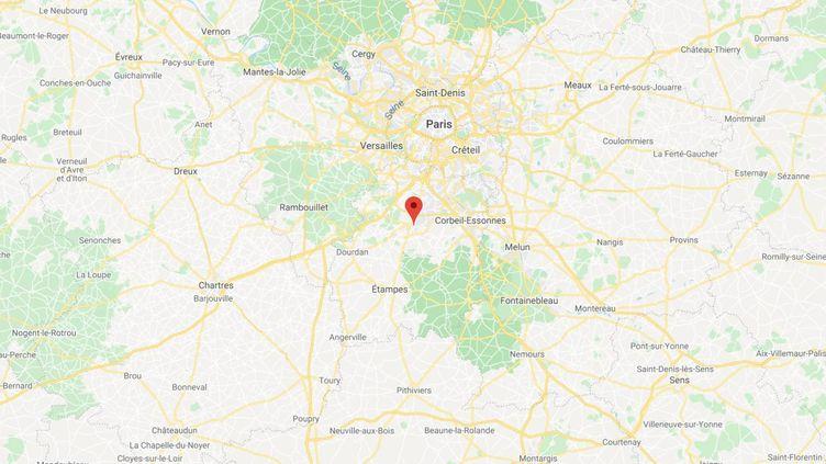 Saint-Germain-lès-Arpajon, en Essonne. (GOOGLE MAPS)