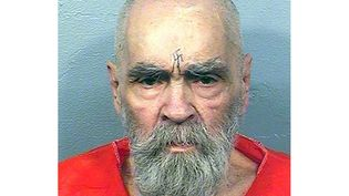 Le meurtrier américain Charles Manson, le 14 août 2017. (HANDOUT / CALIFORNIA DEPARTMENT OF CORRECT / AFP)