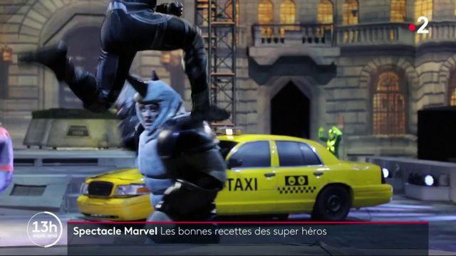 Marvel : des spectacles qui font recettes