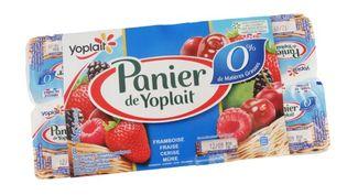 Les yaourts Panier de Yoplait 0%. (FOODWATCH)