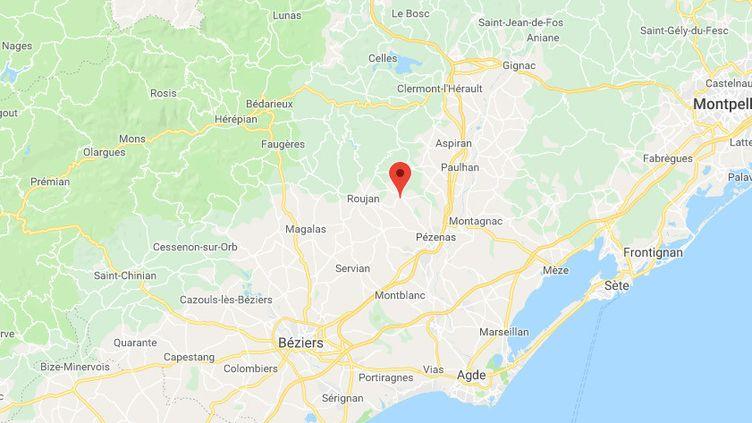 Caux (Hérault). (GOOGLE MAPS)