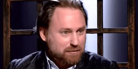 Sergueï Tchapnine était avec Vsevolod Tchapnine l'invité de la chaîne indépendante Dojd' ou TV Rain le 12 janvier 2016. (Dojd'/TV Rain, capture d'écran)