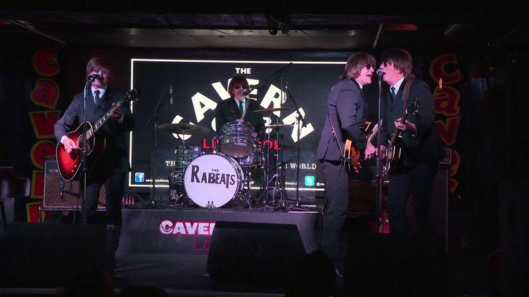 The Rabeats en concert à Liverpool début janvier (France 3 Picardie / J. Guéry)