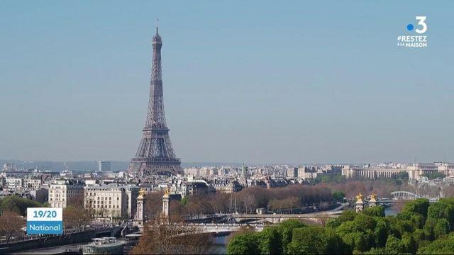 Coronavirus : pendant le confinement, Paris respire
