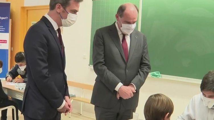 Covid-19 : les tests salivaires bientôt déployés dans les écoles (France 2)