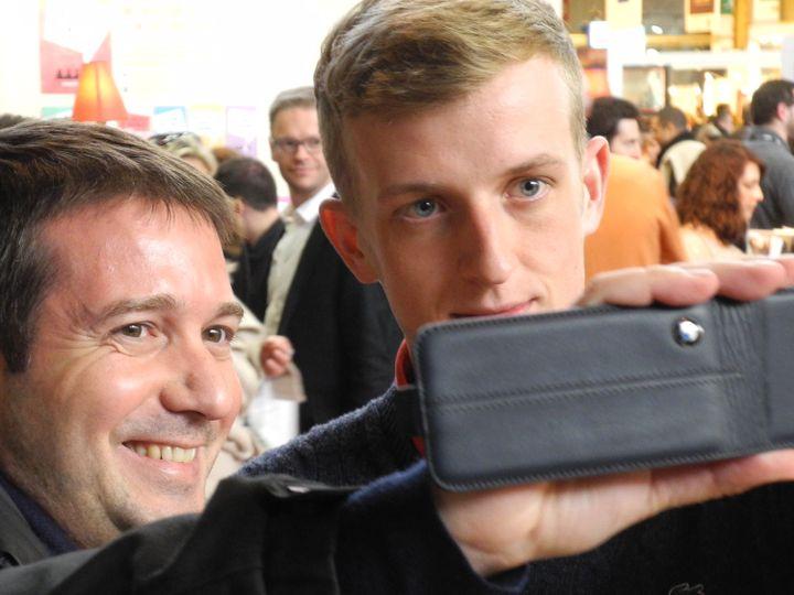 Le selfie d'un fan heureux  (L Houot / Culturebox)