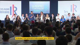 La rentrée politique des Jeunes Républicains dimanche 5 septembre (FRANCEINFO)