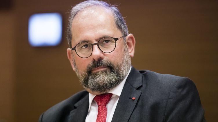 Philippe Laurent, secrétaire général de l'Association des maires de France, ci-contre le 6 septembre 2017. (VINCENT ISORE / MAXPPP)