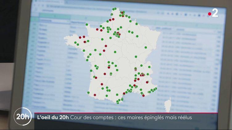 118 maires épinglés par la Cour des comptes ont été réélus (FRANCE 2)
