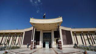 Le tribunal de Bagdad (Irak), le 4 mars 2019. (THAIER AL-SUDANI / REUTERS)