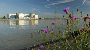 La centrale nucléaire de Fessenheim (Haut-Rhin), le 13 octobre 2013. (JEAN ISENMANN / ONLY FRANCE / AFP)