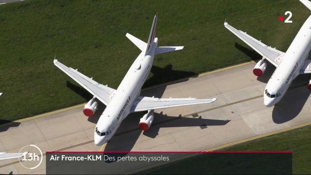 Aéronautique : les pertes abyssales d'Air France-KLM en 2020