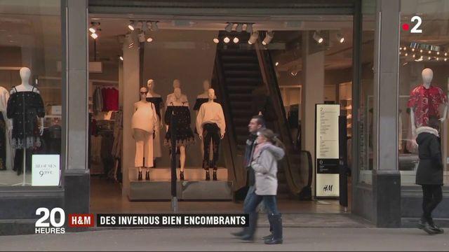 H&M : la marque accusée de brûler des invendus devenus encombrants