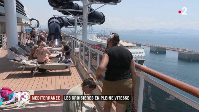 Méditerranée : les croisières en plein boom